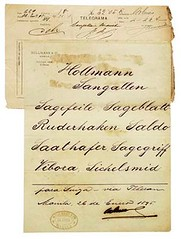 Libro Mayor and Trading Firms Stationery (Leo Cloma) Tags: gallery antique auction philippines leon antiques makati cloma