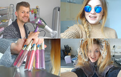 Vlogging is a party # 22 - Pruiken kijken / Fashion is a party (Fashionisaparty) Tags: starter vlog paraplu ros xenos kapper fhn flyingtiger banaan cadeaupapier hypotheek haarknippen versemunt raybanzonnebril slakom vloggingisaparty haarontkleuren vloggingisaparty22pruikenkijken muavelvetliplacquer koelkastfhnen rubberfhnen startersavondrabobank raybanfolded raybanmirror