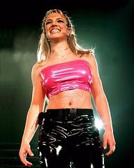 Britney Spears in vinyl pants (Plastic Fashion Queens) Tags: fashion pants spears vinyl plastic trousers britney pvc