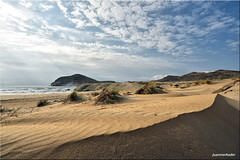 Los Genoveses (juanmerkader) Tags: nature nikond750 picofftheday espaa spain almera cabodegata sand playa sea mar nikon picoftheday picture pic arena naturaleza andaluca andalusia landscapes seascape travel marinas