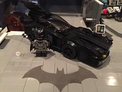 The Batcave - Batmobile (njgiants73) Tags: city robin dark comics dc batcave lego batman knight batgirl superheroes gotham batmobile asylum nightwing moc arkham
