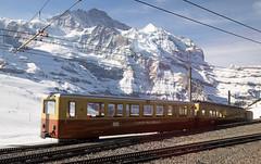 Jungfraubahn, Bernese Alps, Switzerland (maxunterwegs) Tags: alpen alpes alpesberneses alpesbernoises alps berneralpen bernesealps jungfraurailway jungfraubahn kleinescheidegg neige neve nieve schnee schweiz snow suisse suiza sua switzerland lauterbrunnen bern