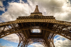 Standing Tall (palashmitter) Tags: paris france tower high europe dynamic eiffel toureiffel range hdr