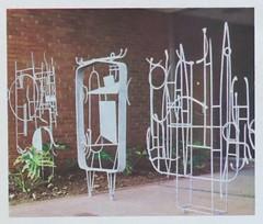 """The Elements"" by sculptor Henri Marie-Rose - IBM campus, San Jose, CA (hmdavid) Tags: california sculpture art june modern magazine campus design artist sanjose ibm center fortune article educational 1959 midcentury internationalbusinessmachines theelements henrimarierose"
