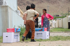 Displaced children in Harir, Iraq (Ummah Welfare Trust) Tags: poverty children war islam iraq relief hunger muslims humanitarian kurdistan العراق welfare humanitarianism ummah عێراق