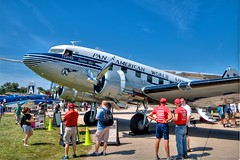 Pan American DC3 Clipper (john-trautschold) Tags: flying panamericandc3clipper eaa oshkosh aviation airventure2016 canonefs1022mmf3545usm