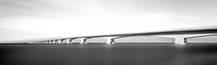 Zeelandbrug (steenbergendaniel) Tags: longexposure bridge evening zeeland le brug avond pillars walcheren zeelandbrug canonef1740mmf4 leefilters canoneos6d bigstopper