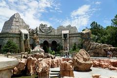 Poseiden's Fury Exterior (arteephact) Tags: orlando florida amusementpark universalstudios themepark amount islandsofadventure 2016 thelostcontinent escapefromthelostcity poseidensfury sal1650 sonya77ii 1650mm28dt