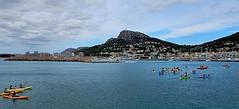 L' Estartit (Meino NL) Tags: sea espaa spain mediterranean kayak catalunya costabrava kano spanje estartit lestartit cataloni middellandsezee kayakestartit
