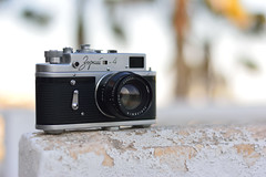 Zorki 4, Jupiter-8 50mm, f/2. 1969 (pepe amestoy) Tags: classic antique cameras bokeh