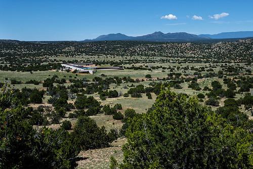 Ранчо Тома Форда Cerro Pelon в штате Нью-Мексико, США
