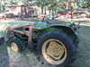 Paradise Lodge John Deere Tractor (Nancy D. Brown) Tags: paradiselodge johndeere johndeeretractor southern oregon rogueriver rowadventures southernoregon tractor
