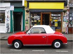 The Car is the Star 1 (donbyatt) Tags: cars sportscars bricklane red