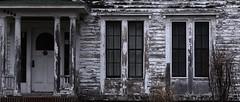(eflon) Tags: white wash house peeling paint front porch windows siding pan stitch door upstate ny wood