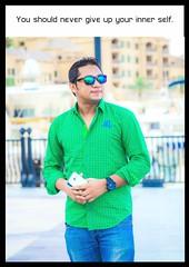 Nir Chowdhury (Nir Chowdhury) Tags: self portrait pearl qatar pearlqatar nir