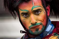 . Saltimbanque (Coeur tranger) Tags: provins portrait costume fantasia fantasy medieval homme homem man maquillage