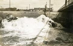 [IDAHO-A-0354] Idaho Falls Power Dam (City Plant) (waterarchives) Tags: idaho realphotopostcardrppc river snakeriver idahofalls hydropower falls idahofallspowerdam