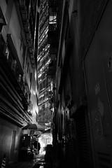 Blade Runner (Wilson Au | ) Tags: hongkong kwuntong blackandwhite monochrome fujifilmxe2 fujinonxf1855mmf284rlmois alley night