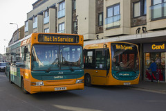 Cowbridge Road, 2nd October (Dai Lygad) Tags: 243 258 cardiff cardiffbusbwscaerdydd cowbridgeroad canton cardiffhalf cardiffhalfmarathon bus buses green orange notinservice cn54nue enviro200 ce63nzo dennisdart travel transport publictransport wales diversions october 2016 flickr photo image picture creativecommons attributionlicense attributionlicence freetouse twobuses city urban dailygad jeremysegrott segrott jeremy uk walesuk caerdydd caerdyddwales photograph camera photography amateurphotography photos photographs images pictures cymru britain british