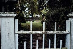 Gate (David Stebbing) Tags: wickford color flickr street
