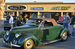 1936 Ford Roadster (Pat Durkin OC) Tags: 1936ford roadster green