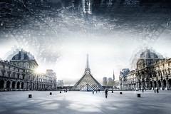 Paris MMXIV (Ivo.Vuk) Tags: paris eiffel ivovuk france nikon photmanipulation louvre city travel composition