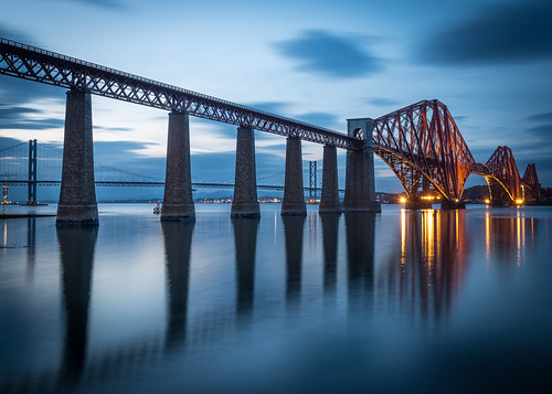 Forth Bridge Blues by Christopher Combe Photography, on Flickr