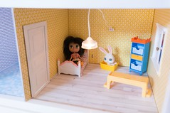 Petite house makeover: Bunny's new room