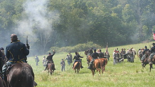 Civil War Reenactment at Hale Farm and Village in the Cuyahoga Valley - Bath Township, Ohio