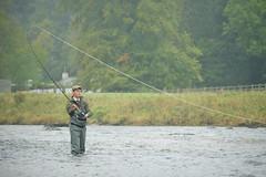 Dee Fishing (Michael Elleray) Tags: fish sport river scotland fishing aberdeenshire country salmon cast flyfishing dee wading angler