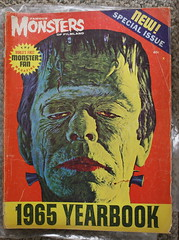 1965 FM Yearbook (Donald Deveau) Tags: magazine yearbook frankenstein monstermovie famousmonsters glennstrange