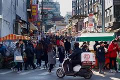 Seoul (bontakun) Tags: city asia market korea seoul southkorea koreanfood streetfood   hongdae