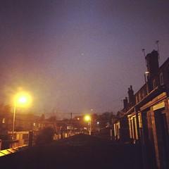Prestwich nocturne (looper23) Tags: uk england night manchester december cobbles 2014 prestwich