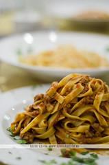 Pasta - Ristorante Origano - Roma (Naomi Rahim (thanks for 2 million hits)) Tags: italy food rome roma restaurant nikon europa europe italia plate pasta ate pizzeria ristorante foodphotography af5018d nikond7000
