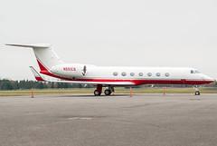 Gulfstream V-SP (Ychocky) Tags: private nikkor yow 50mmf18 cyow gulfstreamg550 n551cs ottawamacdonaldcartier
