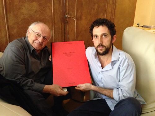 con Jean Pierre Drouet