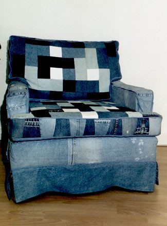 The world 39 s most recently posted photos of settee and for Ohrensessel jeans