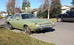 1973 Ford Pinto (dave_7) Tags: green classic ford car 70s 1973 pinto