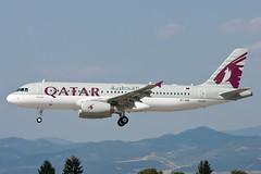 A7-AHO (dyulgerov) Tags: sofia landing airbus a320 airbusa320 qatarairways
