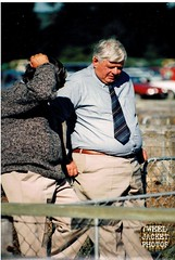 Gents A&P Show Fairlie 1990s 6 (80s Muslc Rocks) Tags: old newzealand man shirt 35mm grey pentax candid country tie ap nz older farmer 1980s scannedphoto 1990s gentleman gentlemen