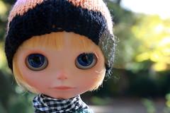 Blue eyed November baby...