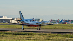 Socata TBM 700 Private N900XH (Mav'31) Tags: private airplane airport nikon aircraft jet toulouse 700 aeroport blagnac spotting tls tbm spotter socata lfbo d5100