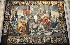 Castrojeriz (Burgos). Iglesia de San Juan. Tapiz de las Siete Artes Liberales (santi abella) Tags: espaa burgos castrojeriz tapices iglesiadesanjuandecastrojeriz