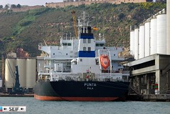 Punta Pula Barcelona 2014 (seifracing) Tags: barcelona rescue boats europe harbour cargo punta emergency croatian pula 2014 cargos vesseles seifracing