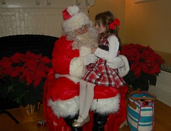Santa and Niamh Regan