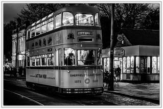 9514SE Sheffield's Last Tram