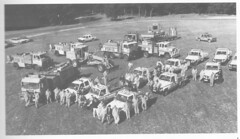 1993-94 report gathering of BFC vehicles (spelio) Tags: forestry report illustrations australia canberra forests act copies australiancapitalterritory