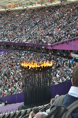 Olympic Flame (Chip_2904) Tags: uk london stadium torch olympics olympicstadium 2012 london2012 olympictorch