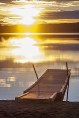 Atando_Cabos_EOS_00861 (El Bicivagabundo) Tags: lago bicicleta playa viajes suecia atandocabos