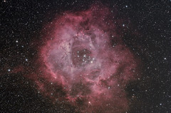 Rosette Nebula Collaboration December 2014 (BudgetAstro) Tags: canon astrophotography astronomy dss ed80 monoceros ngc2237 ngc2244 rosettenebula deepskystacker eos500d ngc2238 ngc2239 ngc2246 caldwell49 caldwell50